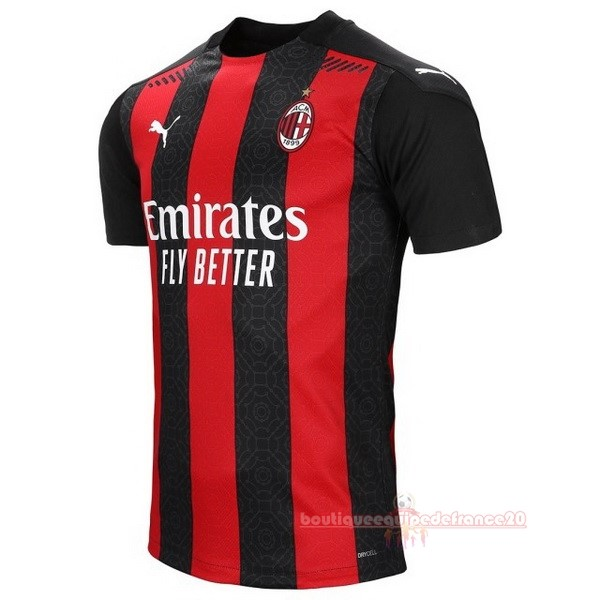 Maillot Sport Domicile Maillot AC Milan 2020 2021 Rouge