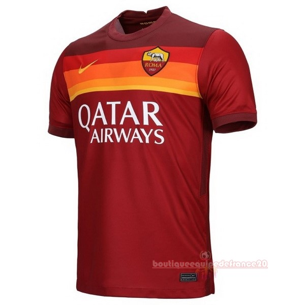 Maillot Sport Domicile Maillot As Roma 2020 2021 Rouge