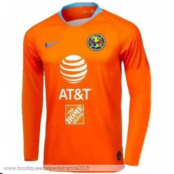 Maillot Sport Third Manches Longues Club América 2019 2020 Orange