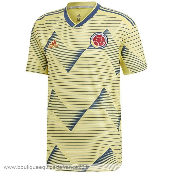 Maillot Sport Domicile Maillot Colombia 2019 Jaune