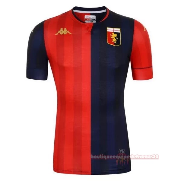 Maillot Sport Domicile Maillot Genoa 2020 2021 Rouge