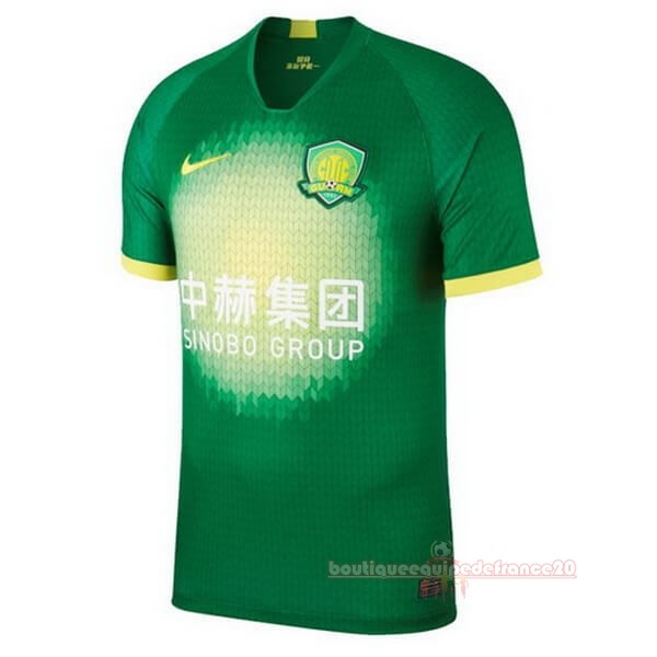 Maillot Sport Domicile Maillot Guoan 2020 2021 Vert