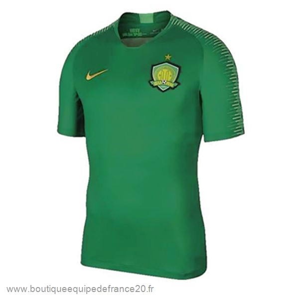 Maillot Sport Domicile Maillot Guoan 2019 2020 Vert