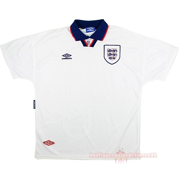 Maillot Sport Domicile Maillot Angleterre Rétro 1994 Blanc