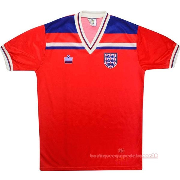 Maillot Sport Exterieur Maillot Angleterre Rétro 1980 Rouge