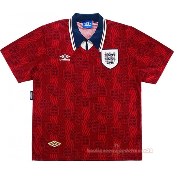 Maillot Sport Exterieur Maillot Angleterre Rétro 1994 Rouge