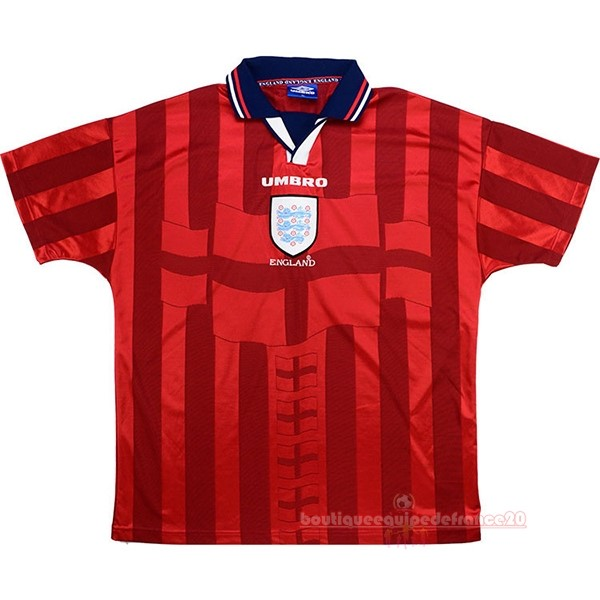 Maillot Sport Exterieur Maillot Angleterre Rétro 1998 Rouge