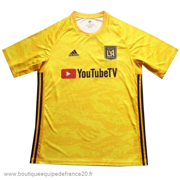 Maillot Sport Gardien Maillot LAFC 2019 2020 Jaune