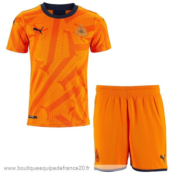 Maillot Sport Third Conjunto De Enfant Newcastle United 2019 2020 Orange