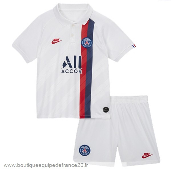 Maillot Sport Third Conjunto De Enfant Paris Saint Germain 2019 2020 Blanc
