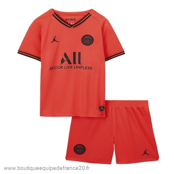 Maillot Sport Exterieur Conjunto De Enfant Paris Saint Germain 2019 2020 Orange