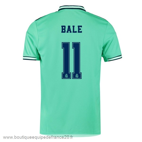 Maillot Sport NO.11 Bale Third Maillot Real Madrid 2019 2020 Vert