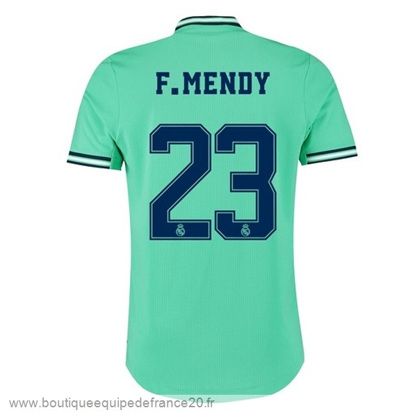 Maillot Sport NO.23 F.Mendy Third Maillot Real Madrid 2019 2020 Vert