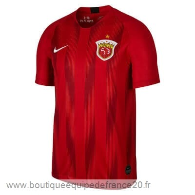 Maillot Sport Domicile Maillot SIPG 2019 2020 Rouge